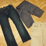 Джинсы- брюки ,на флизе утеплённые