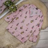 Очень качественная и красивая блуза от PEACOCKS рр 22 наш 56