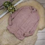 Качественная натуральная блуза от DIVIDED by HM рр 14 наш 48