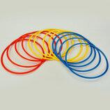 Кольца тренировочные футбольные 0815-60 12 колец, диаметр 60см