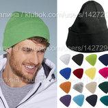 Классическая Шапка с отворотом Унисекс выбор цвета
