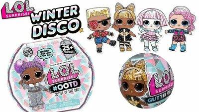 Кукла Лол Зимнее Диско кукла LOL. Surprise Winter Disco Адвент Сестрички