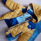 Фирменная курточка и джинсы на подкладке р. 104