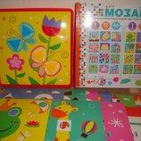 Крупная геометрическая мозаика для малышей аналог Alex Сша 12 картинок