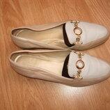 Туфли Clarcs натуральная кожа, 38-39 р-р