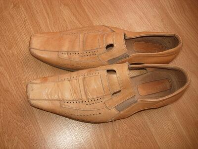 Туфли летние натуральная кожа, 42 р-р
