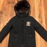 Куртка стеганая , тёплая, размер 3-4года, рост до 98см.Состояние хорошее.