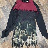 Фирменное платье накидка карнавальный костюм на Хэллоуин в отл сост