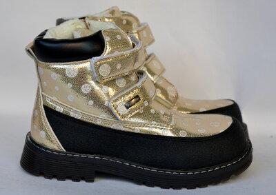 Демисезонные ботинки для девочек Jong Golf