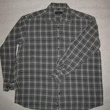 170-175 рост, тёплая байковая рубашка от Bexleys