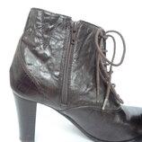 Ботинки кожанные Pavers р.39