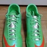 Кроссовки Бампы Копы Копочки Футзалки Бутсы Nike Mercurial Victory IV IC 555614-380