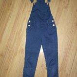 Крутой джинсовый комбез 6-8 лет