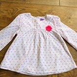 Мила блузочка-рубашка 3-4 рочки