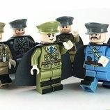 Фигурки, человечки, офицеры лего, lego аналог