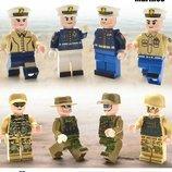 Фигурки, человечки, солдаты,командиры лего, lego аналог
