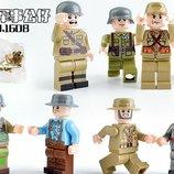 Фигурки, человечки, солдаты, военные лего, lego аналог