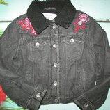 Шикарная куртка с вышивкой
