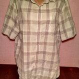 Рубашка размер L на рост 104/109 см фирмы F&F, б/у