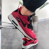 Кроссовки зимние Nike Air Max Mid Winter Red