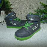 Суперовые кроссовки Fila 23р,ст 15см.мега выбор обуви и одежды