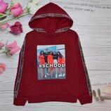 Мега модная теплая кофта Школа для девчонок