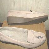 Туфлі лофери брендові Hotter Оригінал Англія р. 37 стелька 23 см