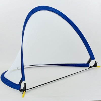 Складные футбольные ворота для тренировок 001M размер 152х91х91см, пластик сетка PVC чехол