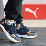 Кроссовки мужские Puma Cell Venom blue/orange