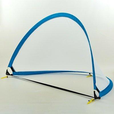 Складные футбольные ворота для тренировок 001L размер 183х104х104см, пластик сетка PVC чехол