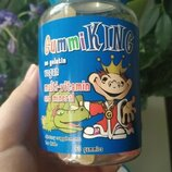 GummiKing, Мультивитамины и минералы для детей, 60 жев мармеладок Gummi king