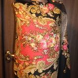 шарф с принтом в идеальном состоянии