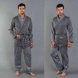 Пижама шелковая мужская мод 210 ткань королевский шелк атлас люкс качества размеры 48-50, и 52-54