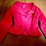 Модный приталенный Пиджак/жакет бренда GIRLS для маленькой Леди