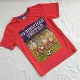 Футболка 9-10 лет, футболочка, Симсоны, Барт Симпсон, the Simpsons