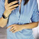 Рубашка Женская В Расцветках, 42-44, 46-48, 50-52 рр