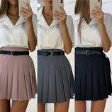 Красивая юбка три расцветки