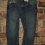 новые синие джинсы с утяжкой DOPO 2-3 года