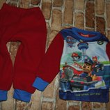 флисовая пижамка костюм 2-3 года Nickelodeon