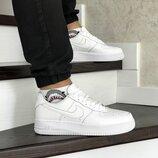 Кроссовки мужские Nike Air Force 1 white 8419