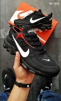 Топ качество. Бесплатная доставка. Кроссовки Nike Mercurial 97 черно-белые KS 1216