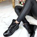 Женские ботинки Balmain кожаные, демисезон