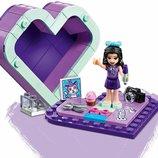 Lego Friends Шкатулка-Сердечко Эммы 41355 Эмму вдохновляет все, что она видит вокруг. Положи её