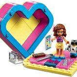 Конструктор LEGO Friends 41357 Шкатулка-Сердечко Оливия