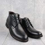 Зимние мужские ботинки Vivaro 620 black, натуральная кожа