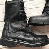 Кожаные ботинки размер 43