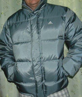 Спортивная фирменная новая зимняя курточка пуховик Adidas.л-хл .