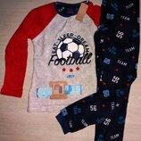 Пижамы Примарк для мальчиков от 2 до 7-ми лет