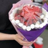 Букет из клубники в шоколаде - необычный подарок, неповторимый, запоминающийся У нас вы можете такж