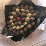 Стильный авторский букет из клубники У нас вы можете также заказать другие сладости - Шоколадный